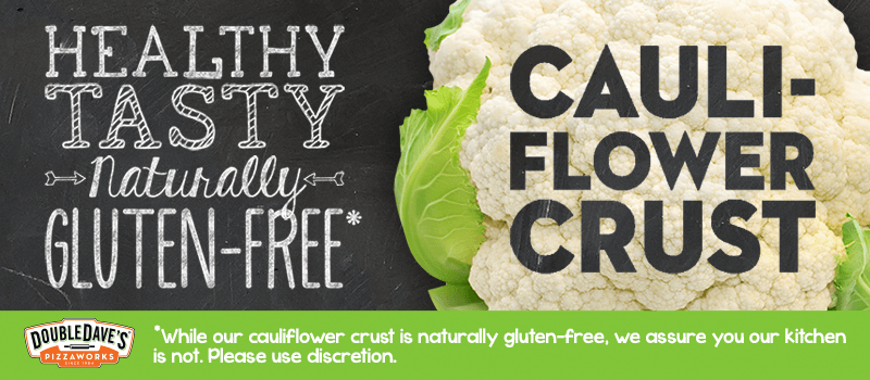 Cauliflower is the New Crust